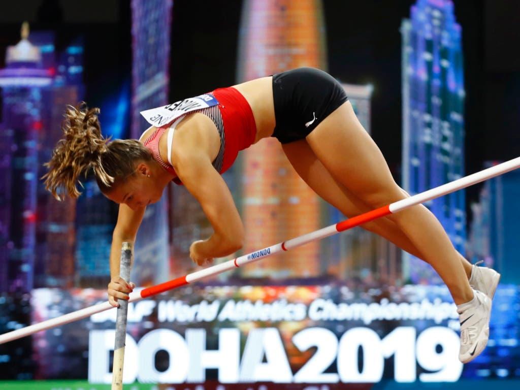 Angelica Moser überzeugte in der Qualifikation (Bild: KEYSTONE/EPA/DIEGO AZUBEL)