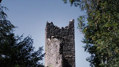 Der Zahn der Zeit nagt an der Ruine Ramschwag. (Bild: Benjamin Manser)