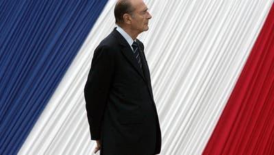 Frankreich verabschiedet sich am Sonntag mit einer grossen Trauerfeier von Jacques Chirac