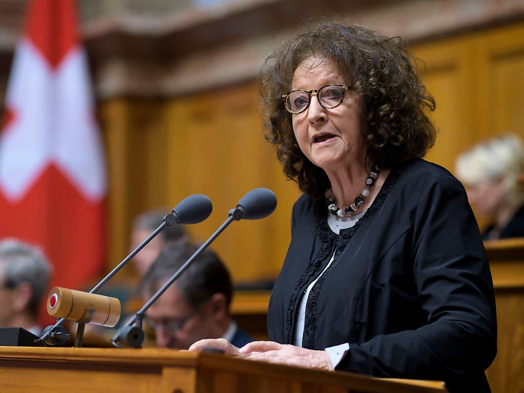 Eine von 48: Nationalrätin Bea Heim (SP/SO) tritt nicht zur Wiederwahl an. (Bild: KEYSTONE/ANTHONY ANEX)