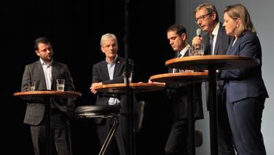 So schneiden die Kandidaten am Wahlpodium in Altdorf ab