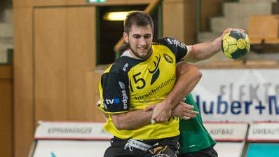 Dominik Juriljvon St. Otmar zeigte eine starke Leistung. (Archivbild: Hanspeter Schiess)