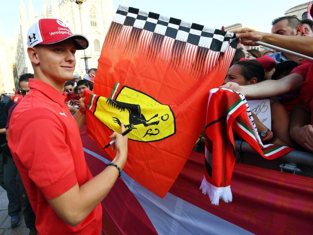 Ermöglicht Ferrari Mick Schumacher schon 2020 ein Formel-1-Lernjahr bei Alfa Romeo-Ferrari? (Bild: KEYSTONE/EPA ANSA/DANIEL DAL ZENNARO)