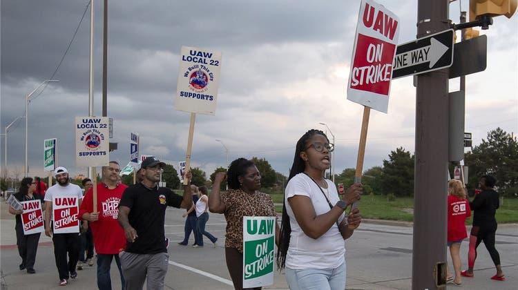Arbeitskampf mit politischen Untertönen bei General Motors