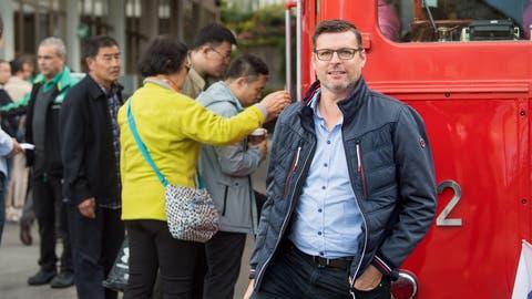 Lehnt eine Besucherobergrenze ab: Marcel Waldis, Interims-CEO der Rigi-Bahnen. (Bild: Boris Bürgisser, Vitznau, 27. September 2019)