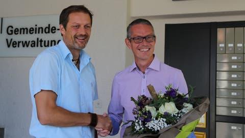 Michael Aebisegger ist neuer Gemeindepräsident von Steinach. (Bild: Sheila Eggmann)
