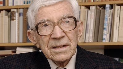 Roland Kuhn am 12. Februar 2002. (Bild: Susann Basler)