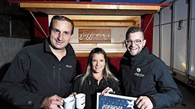 Die Glöggli-Clique rettet den Amriswiler Adventsmarkt