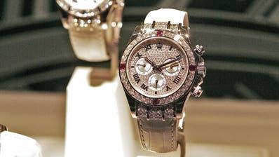 Auch gebrauchte Rolex-Uhren will Bucherer verkaufen. (Foto: niz)