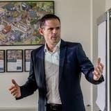Marc Ziegler, CEO der Auto AG Group. (Bild: Nadia Schärli, Rothenburg, 16. April 2019)