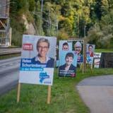 Politiker investieren unterschiedlich viel Geld in ihren Wahlkampf. (Bild: Nadia Schärli, 30. September 2019)