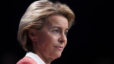 Schwerer Start an der EU-Spitze: Die designierte Kommissionspräsidentin Ursula von der Leyen. (Bild: Keystone)