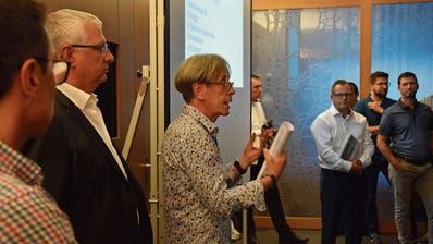 Ein Teil des OK (von links): George Floros, Karl Metzger, Siegfried Rechsteiner und Roland Klotz (im weissen Hemd). (Bild: Tobias Söldi)