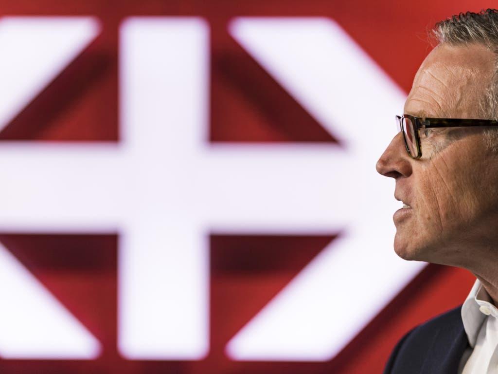SBB-CEO Andreas Meyer verlässt das Unternehmen im Jahr 2020. (Bild: KEYSTONE/ALESSANDRO DELLA VALLE)