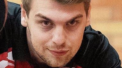 Spielertrainer Michal Kubat. (Bild: Urs Bucher)