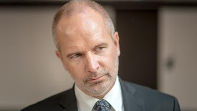 Regierungsrat Stefan Kölliker gerät wegen der HSG-Affäre in die Kritik. (Bild: Michel Canonica)