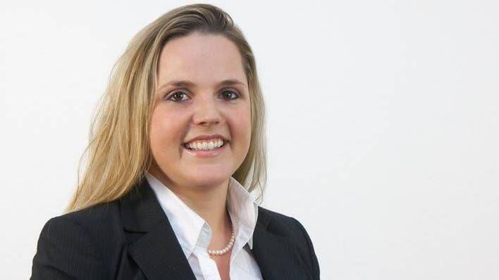 Die junge Sozialhilfe-Expertin Martina Bircher ist eine von fünf SVP-Frauen, die den Sprung nach Bern anstreben. Mit intakten Chancen angesichts gleich vier SVP-Rücktritten. (Bild: Aargauer Zeitung)