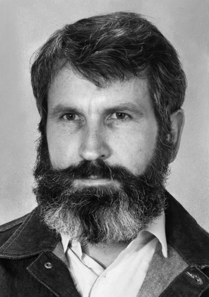 Walter Stürm in einer Aufnahme aus dem Jahr 1984. (Bild: Keystone)