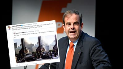 CVP-Präsident Pfister bezeichnet Daniele Ganser als Wirrkopf – wegen 9/11-Sprengungs-Theorie