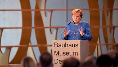 Bauhaus Museum Dessau eröffnet - Merkel: Wunderbare Sache