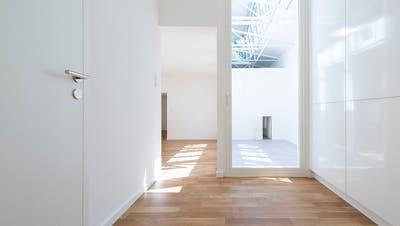 Moderater Anstieg leer stehender Wohnungen in der Schweiz