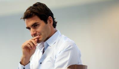 Roger Federer ist sich seiner Vorbildsfunktion bewusst. (Bild: Keystone)