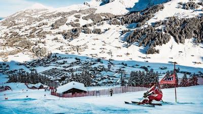 Der Beste am Kuonisbergli: Marcel Hirscher. (Bild: Jean-Christophe Bott/Keystone (Adelboden, 12. Januar 2019))