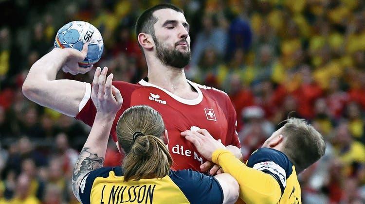 Eine brutale Zäsur: Die Schweiz verliert das Auftaktspiel der Handball-EM