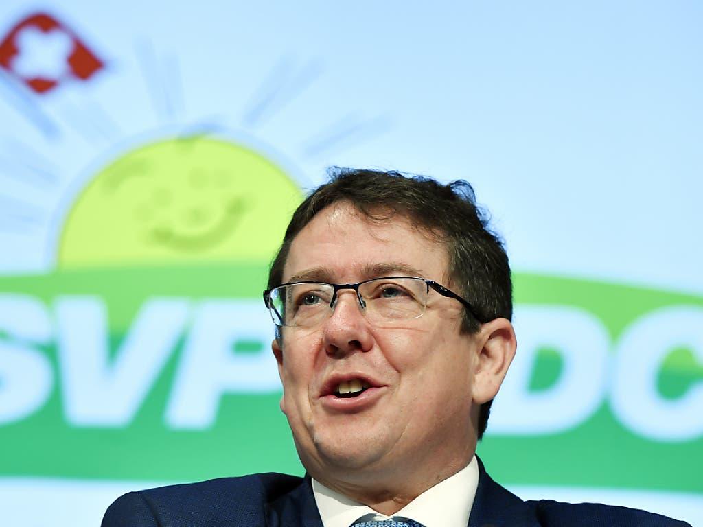 Kein Run: Mehrere Papabili für die Nachfolge von SVP-Präsident Albert Rösti haben abgewinkt.