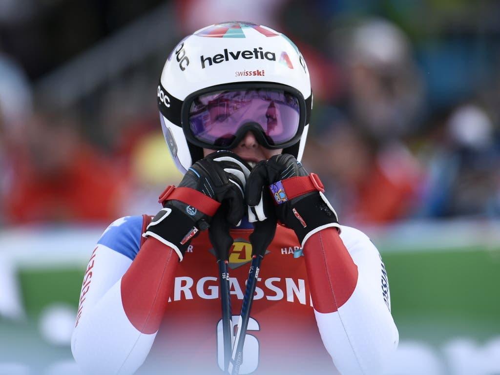 Michelle Gisin fuhr als zweite Schweizerin aufs Podest