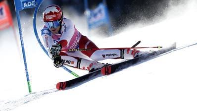 Am Ende war es Platz 17:Loic Meillard ist bester Schweizer. (Bild: Gabriele Facciotti / AP)
