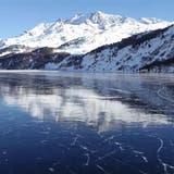 Der Silsersee. ((Bild: Kapo GR))