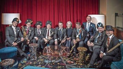 Alle waren sie gestern da im Casino (von links): Daniel Medici, Hugo Herzog, Rolf Birchler, Hebi Lörch, Reto Bachmann, Franziska Bitzi, Roland Fischer, Alois Meile, Seppi Portmann und Mike Oswald.