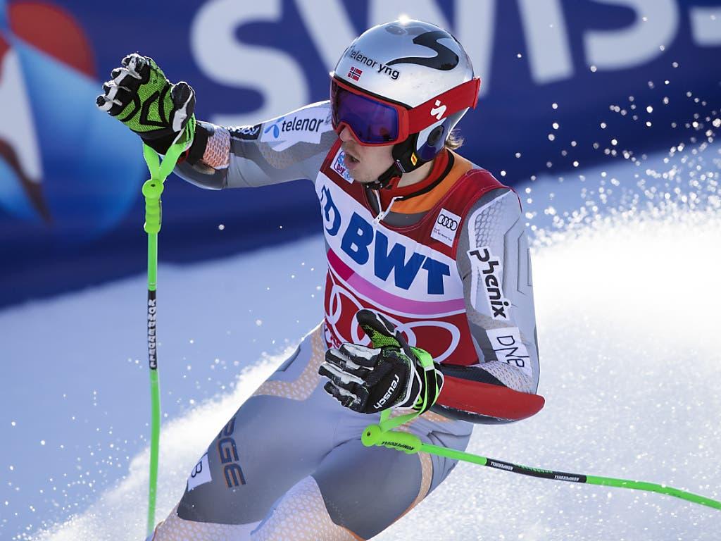 Henrik Kristoffersen musste sich mit dem 2. Platz begnügen