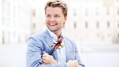 Geiger und Dirigent: Julian Rachlin war zu Gast in St. Gallen. (PD)