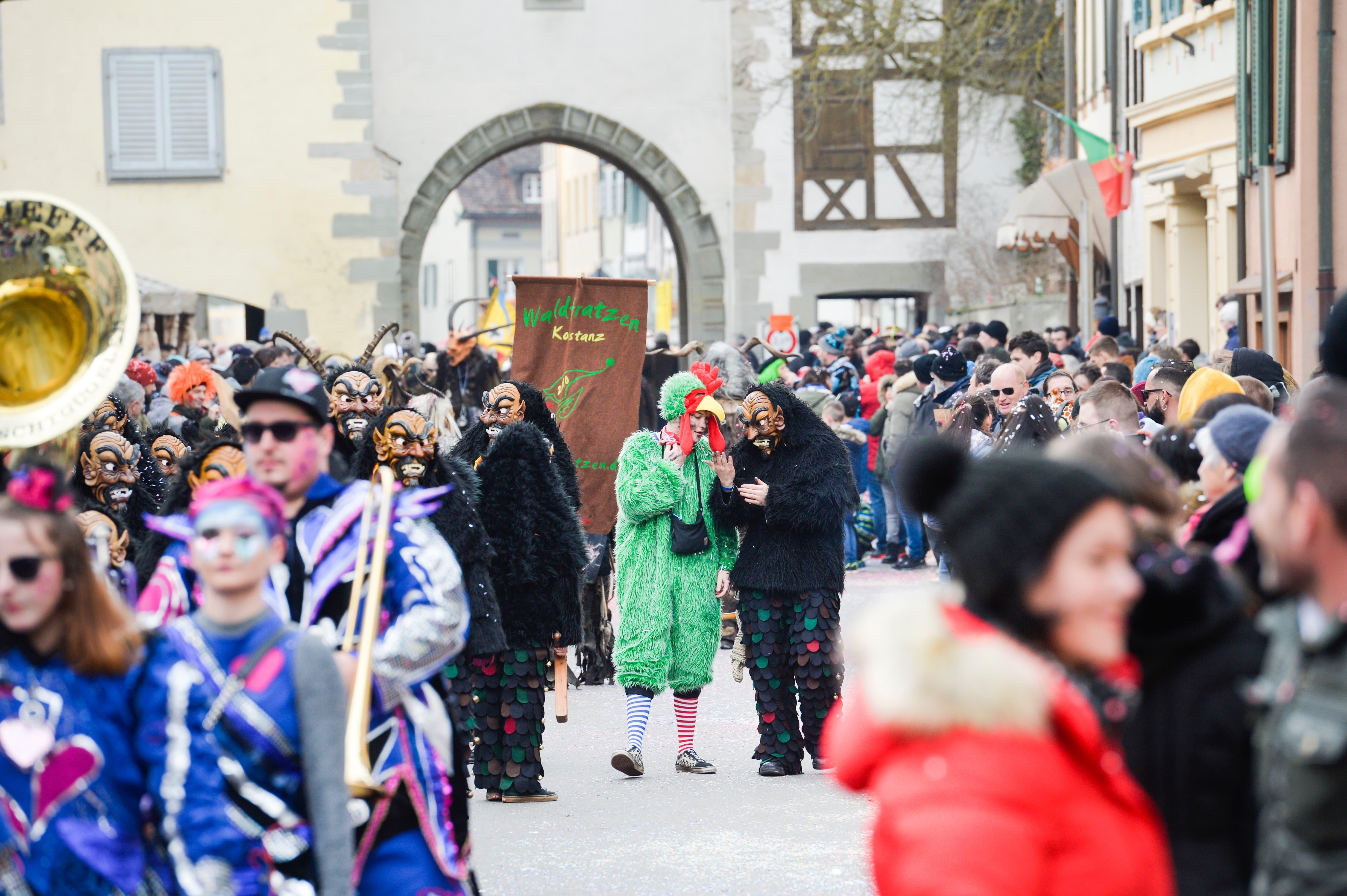 Diessenhofen TG , 12.01.2020 / Grosser Diessenhofer Fasnachtsumzug