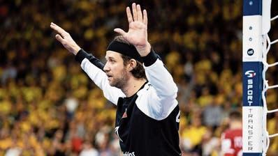 St.Otmars Stammgoalie Aurel Bringolf erlebt die erste Schweizer Handball-EM seit14 Jahren als Schattenmann