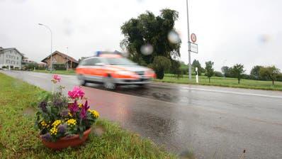 Es passierte eingangs Hohenrain: ein damals 24-jähriger Mann erlitt nach einem Streit tödliche Verletzungen. (Bild: Roger Zbinden (Hohenrain, 8. August 2009))