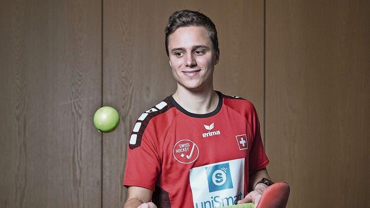Für den Landhockeyaner Sebastian Schneider geht ein Bubentraum in Erfüllung