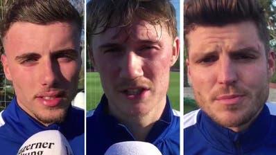 Der FC Luzern im Trainingslager in Marbella: Interviews mit den Spielern