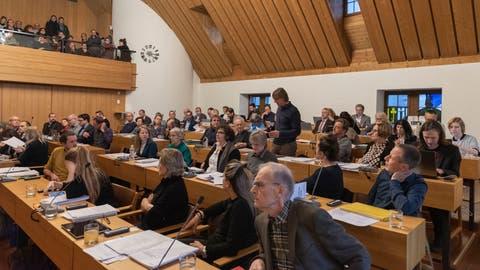 Das St.Galler Stadtparlament bei der Budgetsitzung für das Jahr 2020. (Lisa Jenny (10. Dezember 2019))