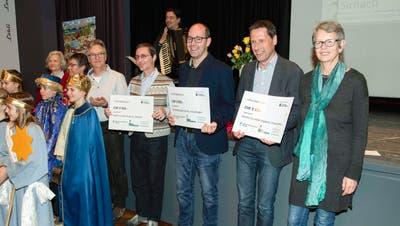 Die drei Preisträger des ersten Prix Diakonie. ((Bild: PD/Fotoklub Hinterthurgau))