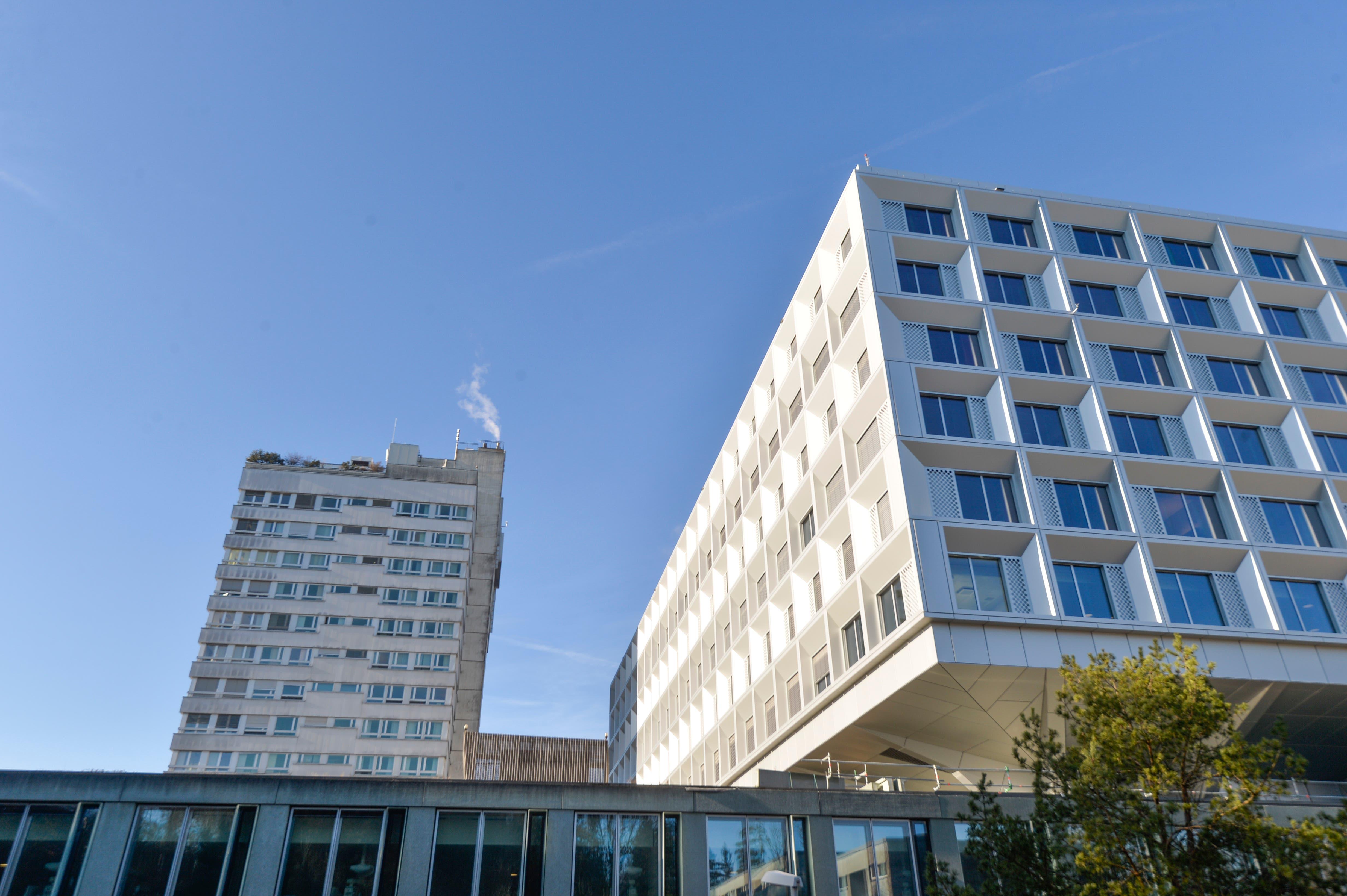 Der Neubau ist so konzipiert, dass sich alle Patienten und Besucher schnell im Gebäude zurechtfinden.