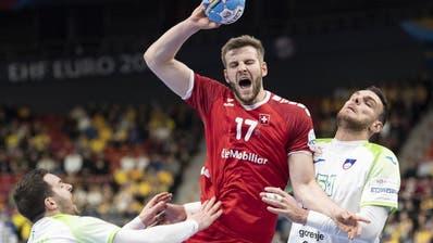 Handball-EM 2020   Kein «Handball-Wunder» der Schweiz: Sie unterliegt Slowenien mit 25:29 und scheidet an der EM aus