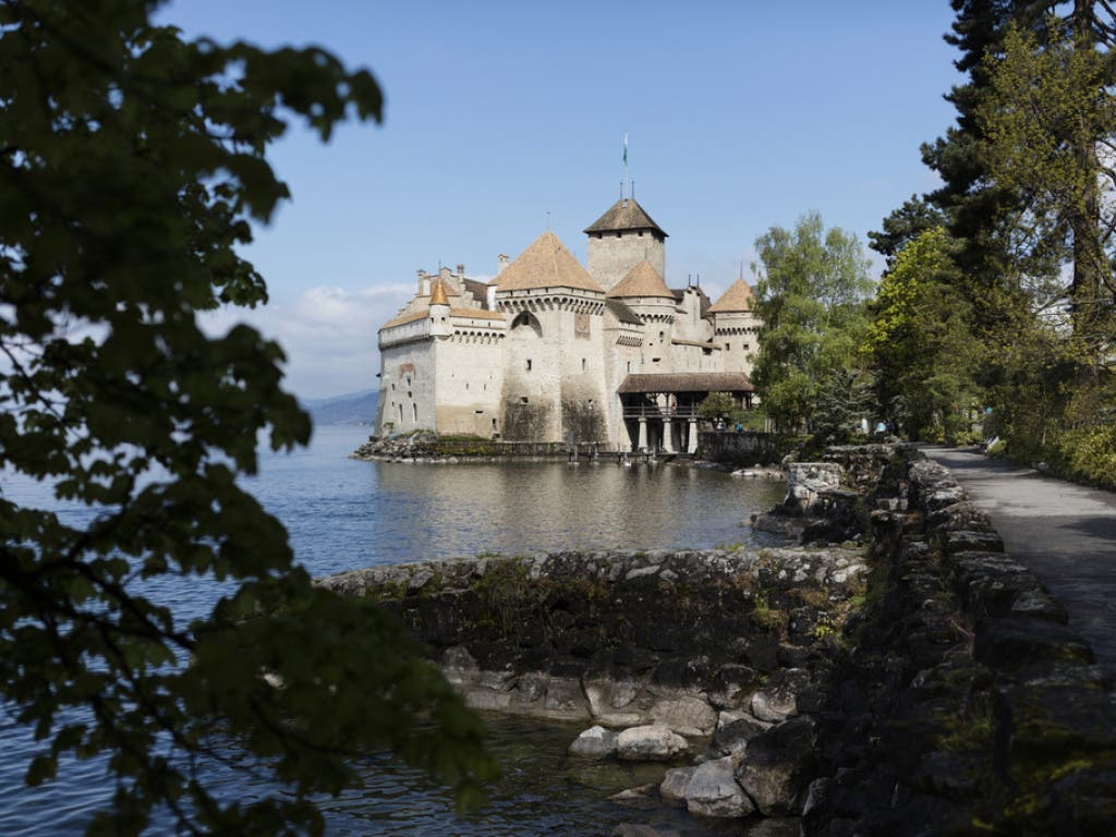 Seit Jahren kommen jährlich über 400'000 Touristen nach Veytaux VD, um das Schloss Chillon zu besuchen.