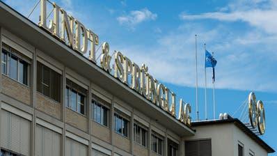 Der Sitz des Schweizer Schokoladekonzerns Lindt & Sprüngli bei Zürich. In den USA baut dieser seine Tochtergesellschaften gerade um. (Bild: Keystone)