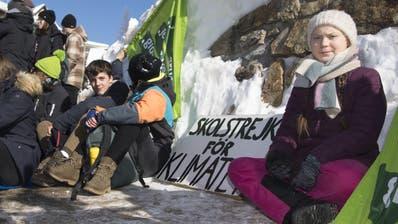Aushängeschild der «Winterwanderung für Klimagerechtigkeit» ist die schwedische Klima-Aktivistin GretaThunberg. (Archivbild: Key)