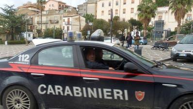Grosse Anti-Mafia-Razzia auf Sizilien - Betrug mit EU-Fördergeldern