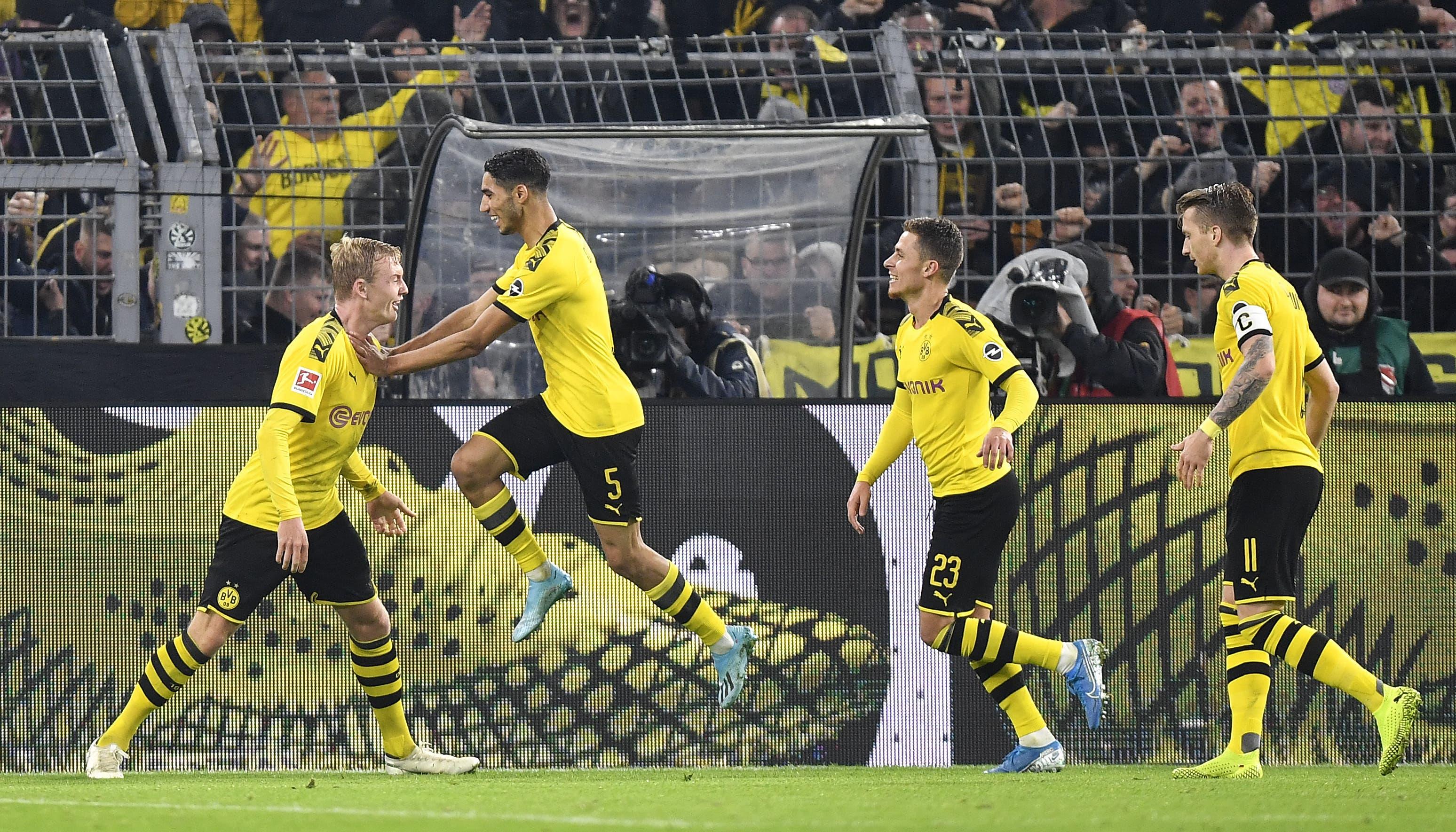 Borussia DortmundTabellenplatz: 4  Prognose: Rang 3  Begründung: Die Dortmunder spielen wieder konstant guten Fussball, um den Meistertitel werden sie aber nicht mitreden.