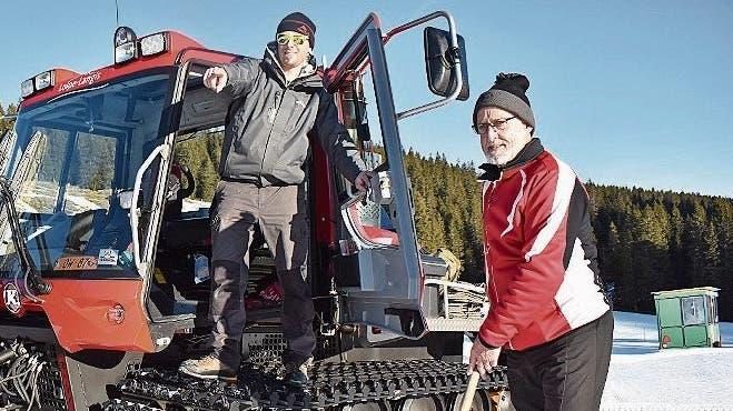 Der Biathlon-Nachwuchs misst sich auf dem Langis